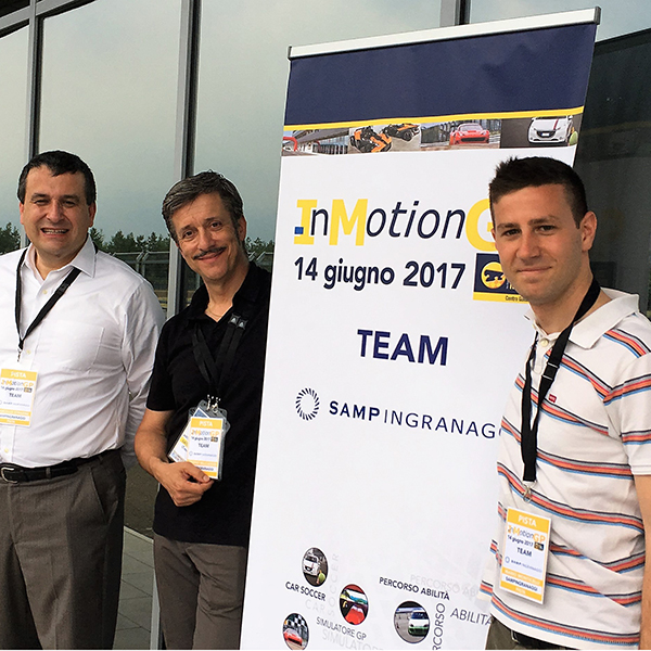 Sampingranaggi sponsor Inmotion GP